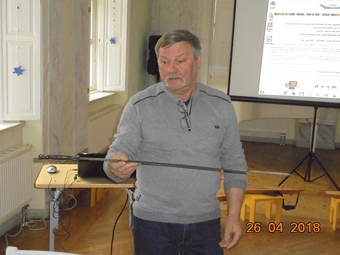 Kalle Lipp. Foto Enn Laansalu