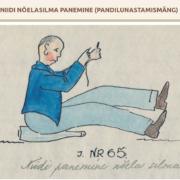 Robert Kello üleskirjutus ja joonistus aastast 1935